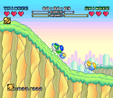 Pop'n TwinBee - Rainbow Bell Adventures ingame screenshot