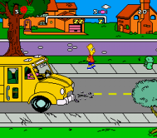 Simpsons, The - Bart's Nightmare ingame screenshot