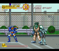 Sonic Blast Man II ingame screenshot