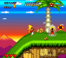 Speedy Gonzales in Los Gatos Bandidos ingame screenshot
