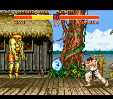 Street Fighter 2 - The World Warrior ingame screenshot