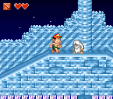 Super Adventure Island II ingame screenshot