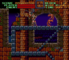 Super Castlevania IV ingame screenshot