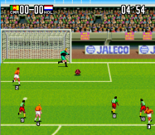 Super Goal! 2 ingame screenshot