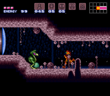 Super Metroid ingame screenshot