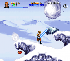 Super Star Wars - The Empire Strikes Back ingame screenshot