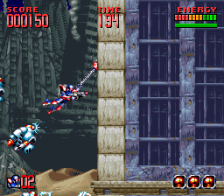 Super Turrican 2 ingame screenshot