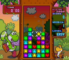 Tetris Attack ingame screenshot