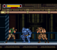 X-Men - Mutant Apocalypse ingame screenshot