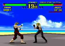 Virtua Fighter ingame screenshot