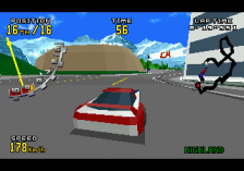 Virtua Racing Deluxe ingame screenshot