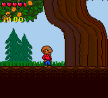 Berenstain Bears' Camping Adventure, The ingame screenshot