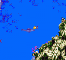 Ecco the Dolphin ingame screenshot