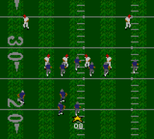 Madden NFL '95 ingame screenshot