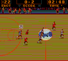 NBA Action ingame screenshot