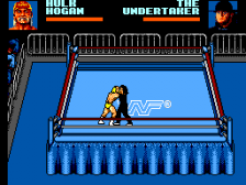 WWF Wrestlemania Steel Cage Challenge ingame screenshot