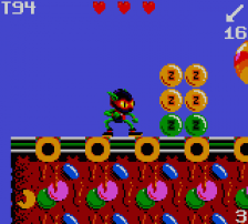 Zool ingame screenshot