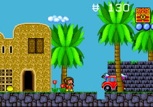 Alex Kidd in the Enchanted Castle ingame screenshot
