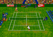 Andre Agassi Tennis ingame screenshot