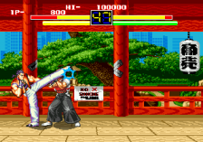 Art of Fighting ingame screenshot