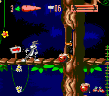 Bugs Bunny in Double Trouble ingame screenshot