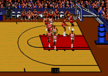 Bulls versus Blazers and the NBA Playoffs ingame screenshot