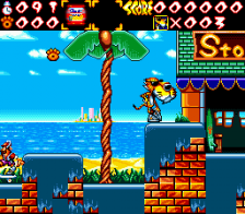 Chester Cheetah - Wild Wild Quest ingame screenshot