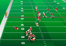 College Football USA 96 ingame screenshot