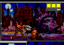 Comix Zone ingame screenshot