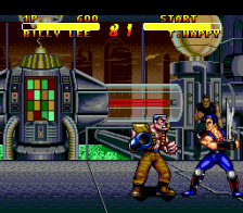 Double Dragon V - The Shadow Falls ingame screenshot