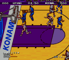 Double Dribble - The Playoff Edition ingame screenshot