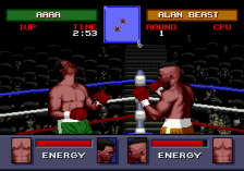Evander Holyfield's 'Real Deal' Boxing ingame screenshot