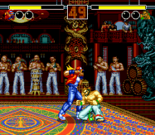 Fatal Fury ingame screenshot