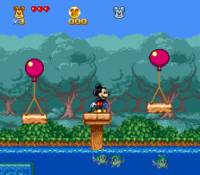 Great Circus Mystery Starring Mickey & Minnie, The ingame screenshot