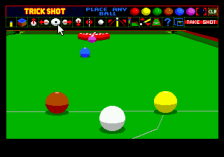 Jimmy White's Whirlwind Snooker ingame screenshot