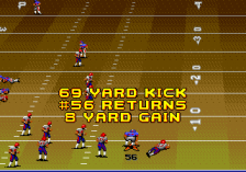 John Madden Football '92 ingame screenshot