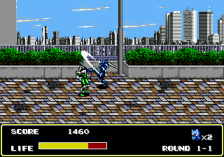 Mazin Saga - Mutant Fighter ingame screenshot