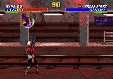 Mortal Kombat 3 ingame screenshot