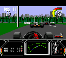 Newman Haas Indy Car Featuring Nigel Mansell ingame screenshot