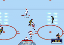 NHL All-Star Hockey '95 ingame screenshot