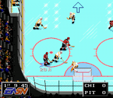 NHLPA Hockey 93 ingame screenshot
