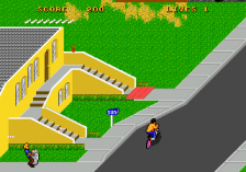 Paperboy 2 ingame screenshot