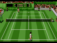 Pete Sampras Tennis ingame screenshot