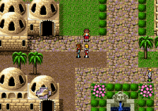 Phantasy Star IV ingame screenshot