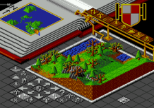 Populous ingame screenshot