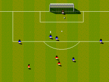 Sensible Soccer ingame screenshot
