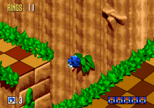 Sonic 3D Blast : Flickies' Island ingame screenshot