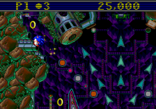 Sonic Spinball ingame screenshot