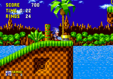 Sonic The Hedgehog ingame screenshot