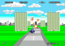 Super Thunder Blade ingame screenshot